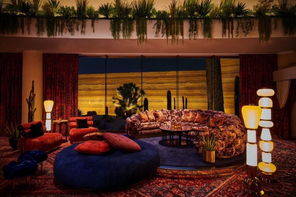 The Shag Room, Virgin Hotels Las Vegas.