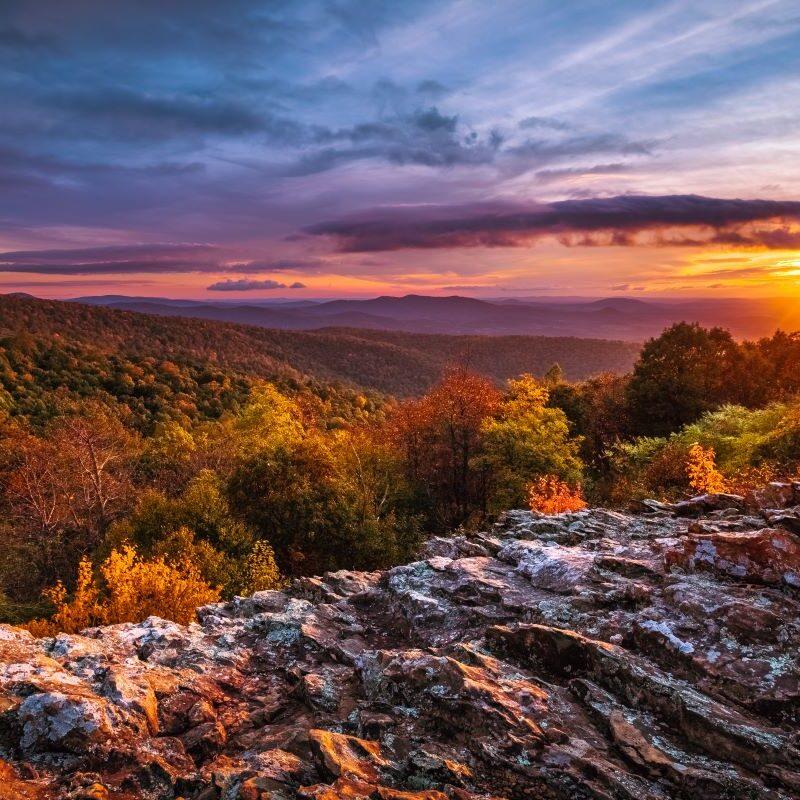 Shenandoah dawn
