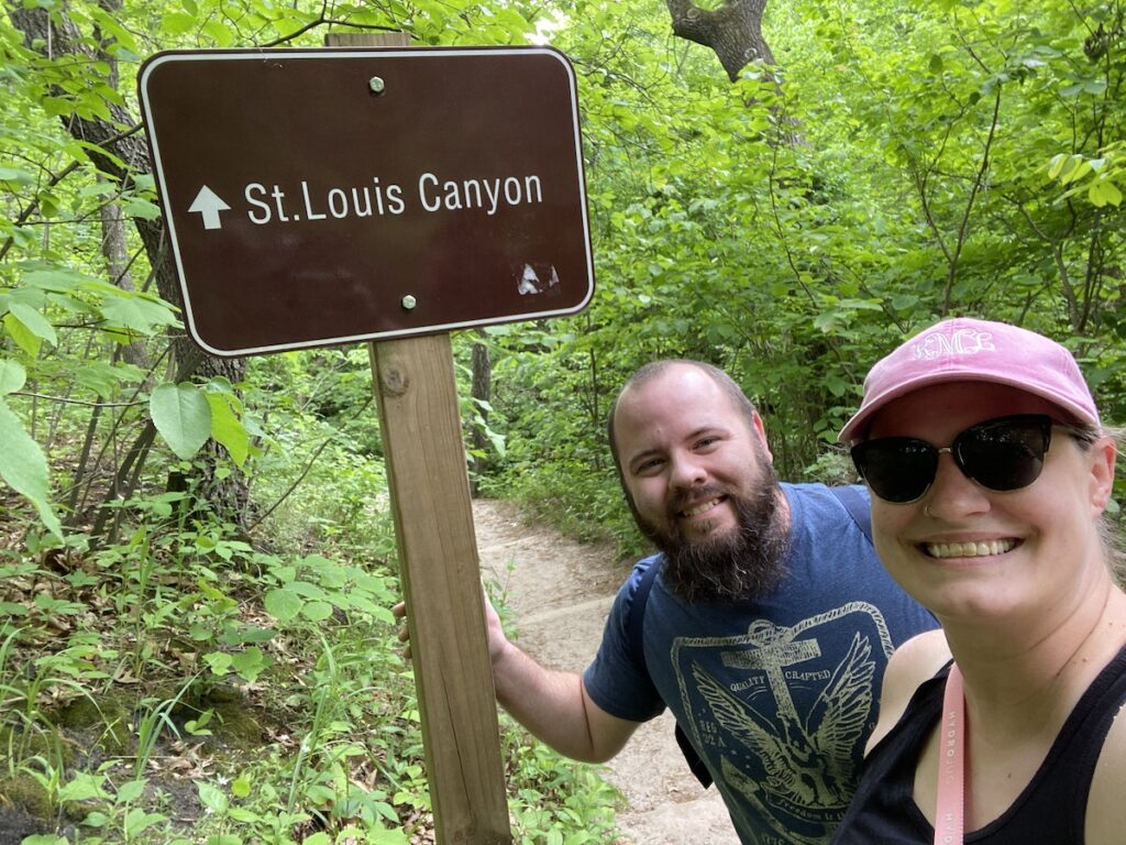St. Louis Canyon Trailhead, Starved Rock State Park