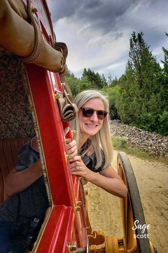 Stagecoach Ride in Virginia City.