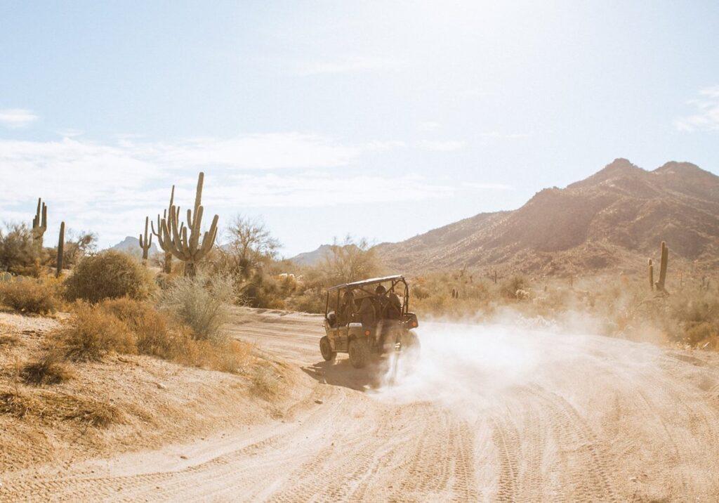 Sonoran Desert off-road tour with Stellar Adventures.