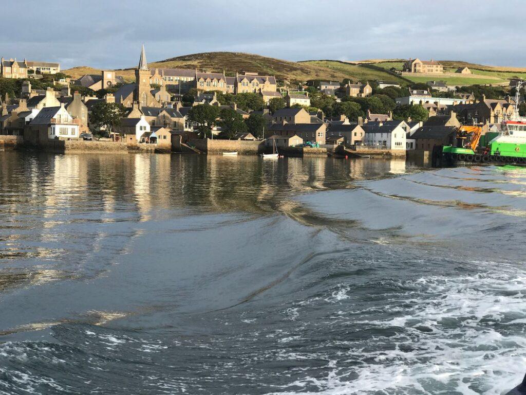 Stromness in Scotland