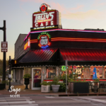 Tally's Good Food Cafe on Route 66 in Tulsa, Oklahoma.