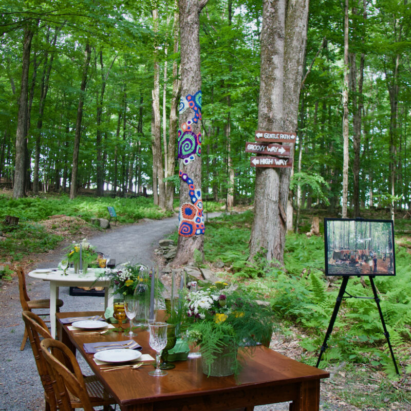 Terrain and Table Dinner on the Bindy Bazaar Trail at Bethel Woods Center for the Arts