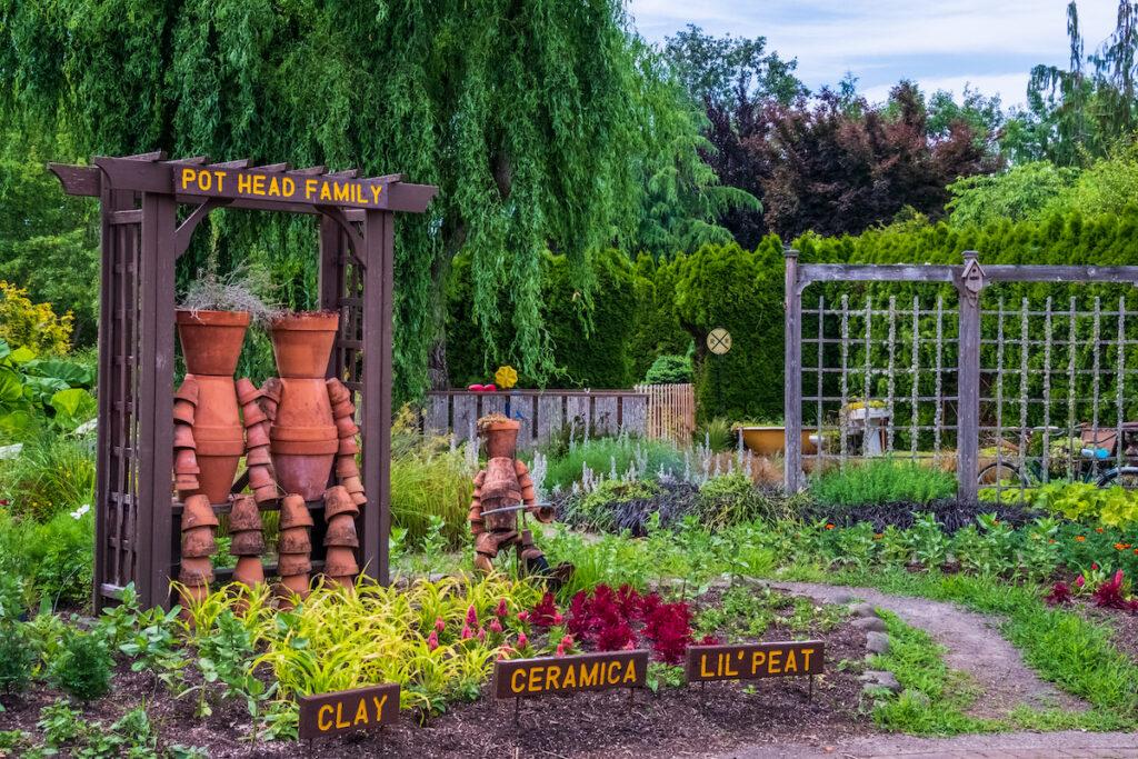 The Children's Garden at the Oregon Garden.