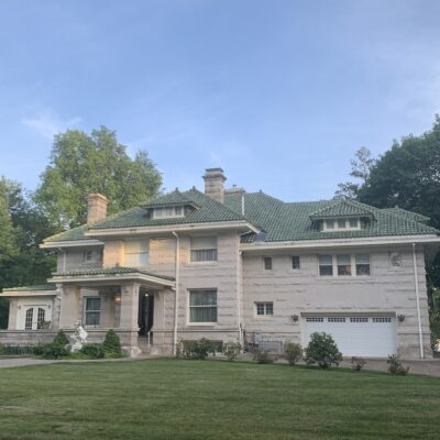 The McNeil Stone Mansion is a luxurious B&B in Oskaloosa.