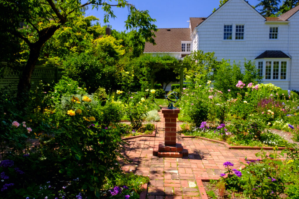 The garden at Gaiety Hollow.