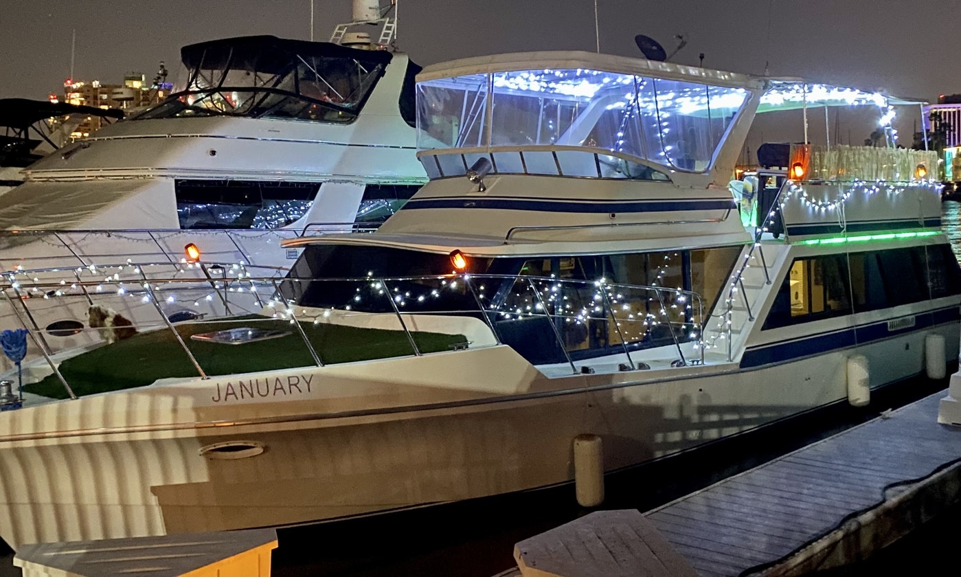 59-Foot Tiki Yacht For Rent In Marina Del Ray