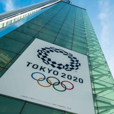 Tokyo 2020 sign
