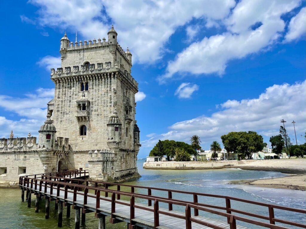 Belém Tower in Lisbon, Portugal.