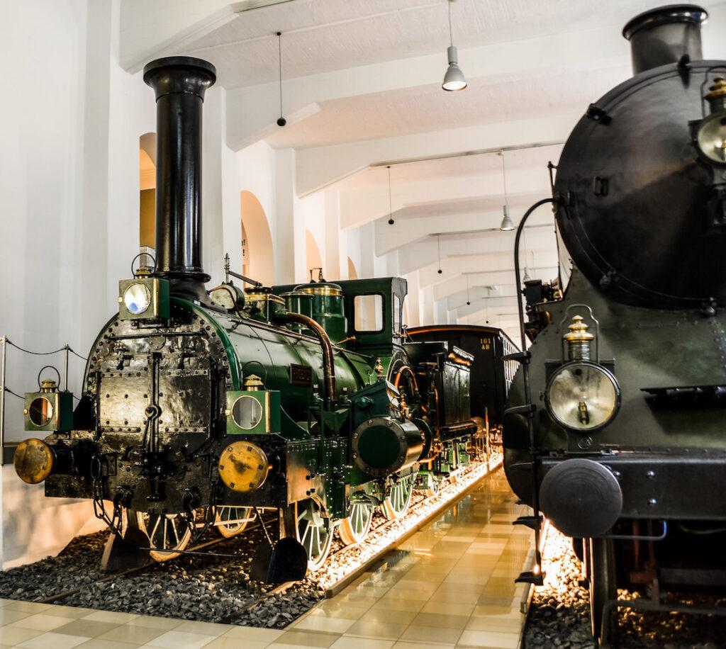 German Railway Museum in Nuremberg.