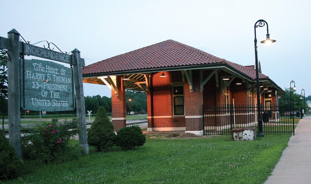 Truman depot in Independence, MO