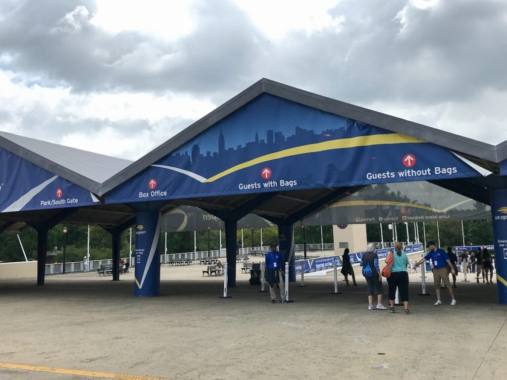 Entrance to US Open (East Gate).