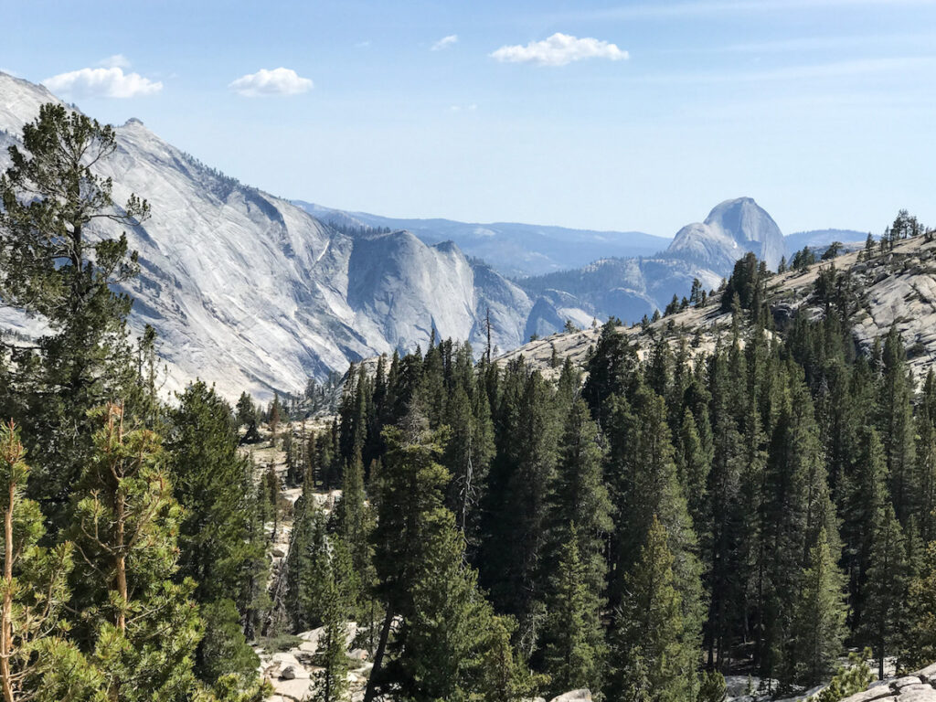 View from Olmsted Point, Tioga Road.