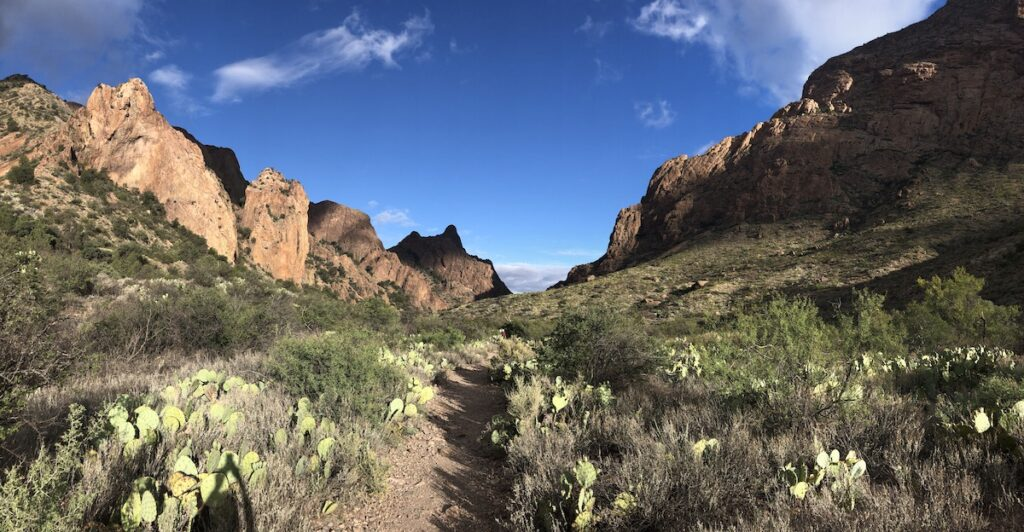 Widow Trail in Big Bend National Park.