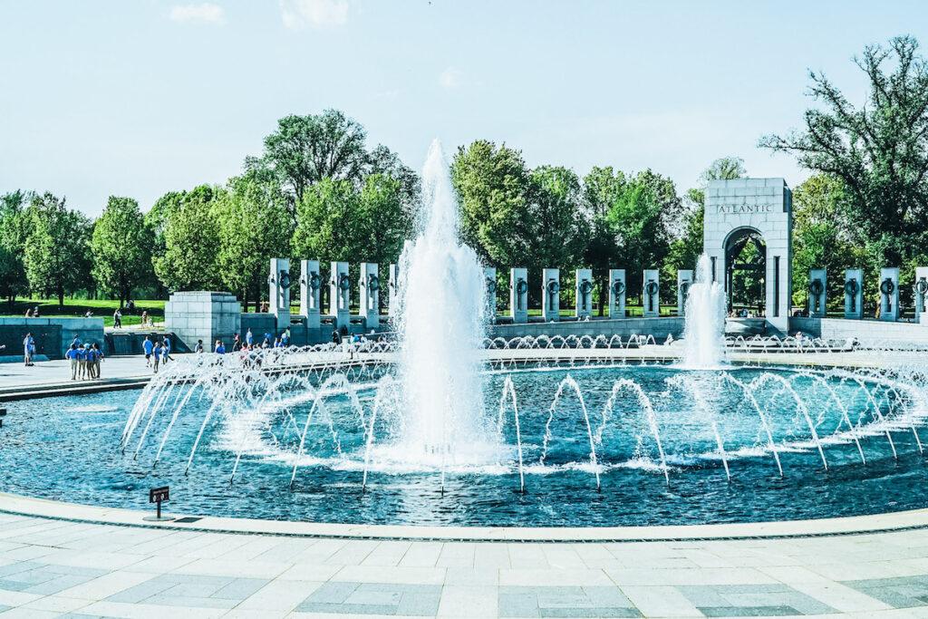 World War II Memorial, National Mall in Washington D.C.