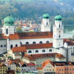 The beautiful town of Passau, Germany