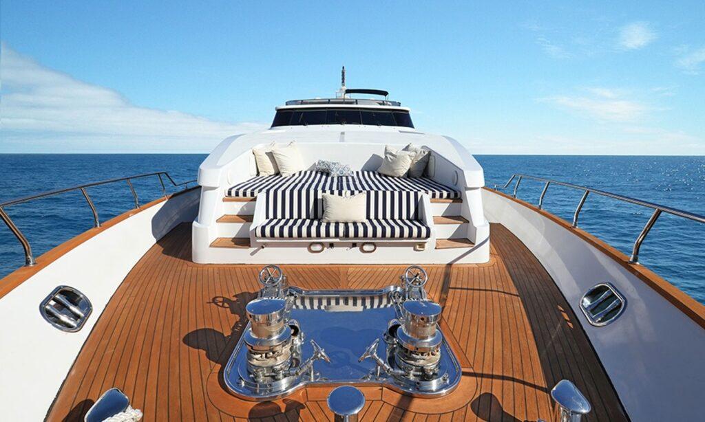 Admiral XL Yacht Charter deck in Marina del Rey, California