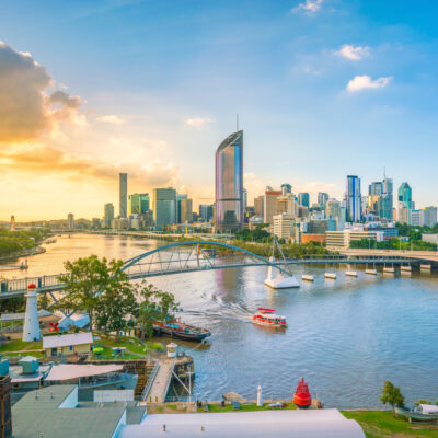 Brisbane, Australia, skyline.