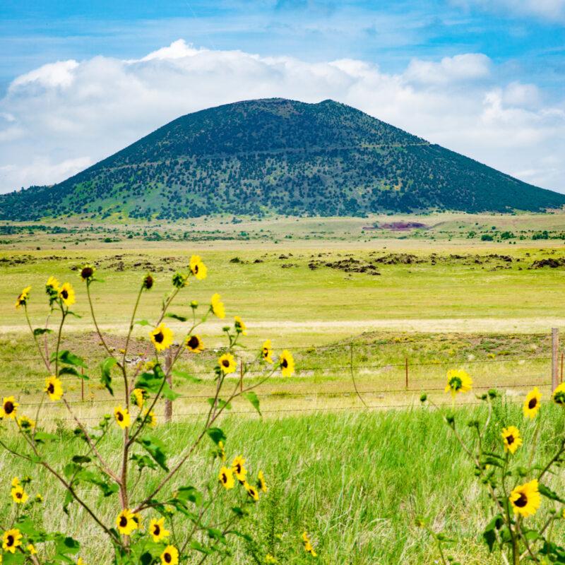 Capulin Volcano National Monument, New Mexico.
