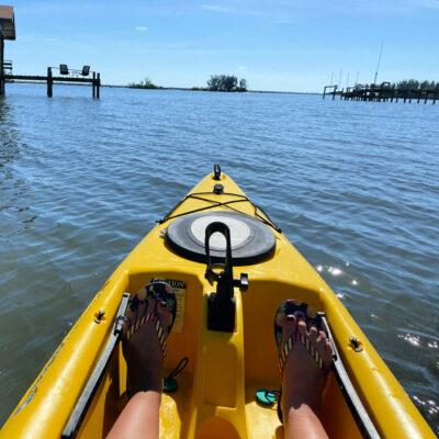 Kayaking in Sebastian.