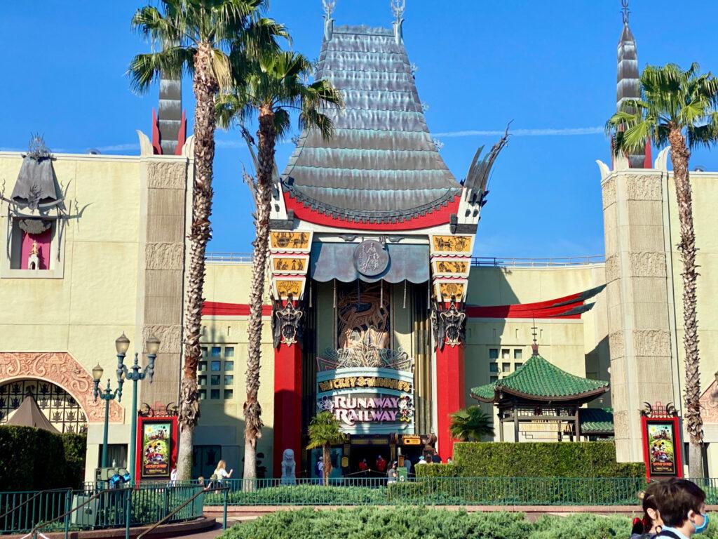 mickey and Minnie's runaway railway in Hollywood Studios