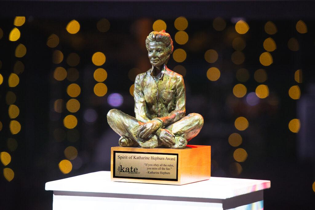The Spirit of Katharine Hepburn Award, The Katharine Hepburn Museum Old Saybrook, CT.