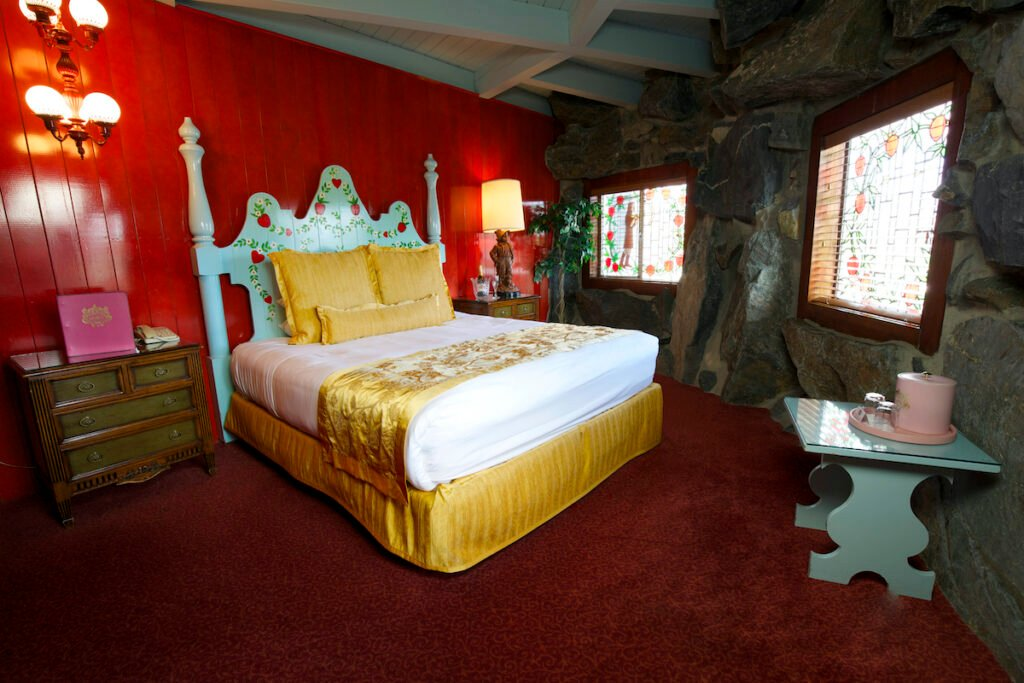 The Wilhelm Tell Room at the Madonna Inn.
