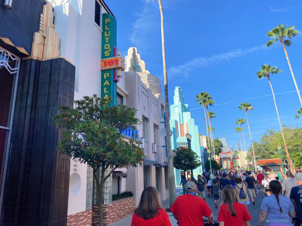 shopping at Hollywood Studios