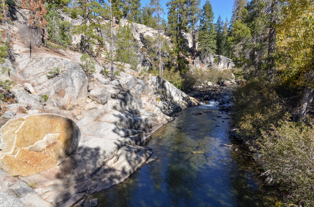 Middle Fork of San Joaquin river Ansel Adams Wilderness, Madera county, California