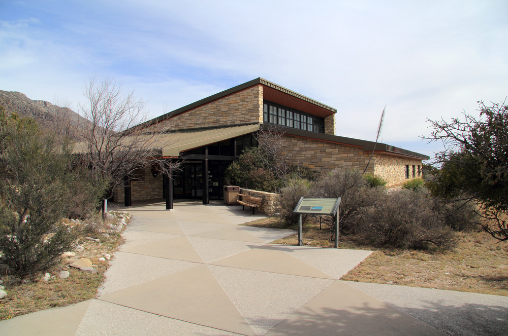 Pine Springs Visitor Center, Guadalupe Mountains National Park.