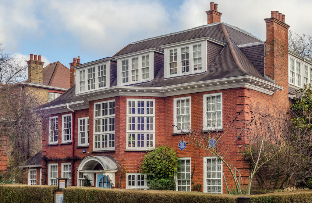 A museum dedicated to Sigmund Freud in the Camden area of north west London
