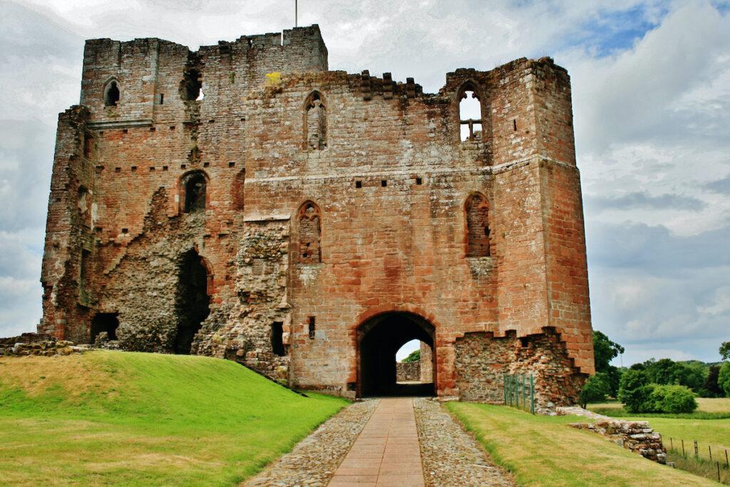 Brougham Castle in Cumbria.