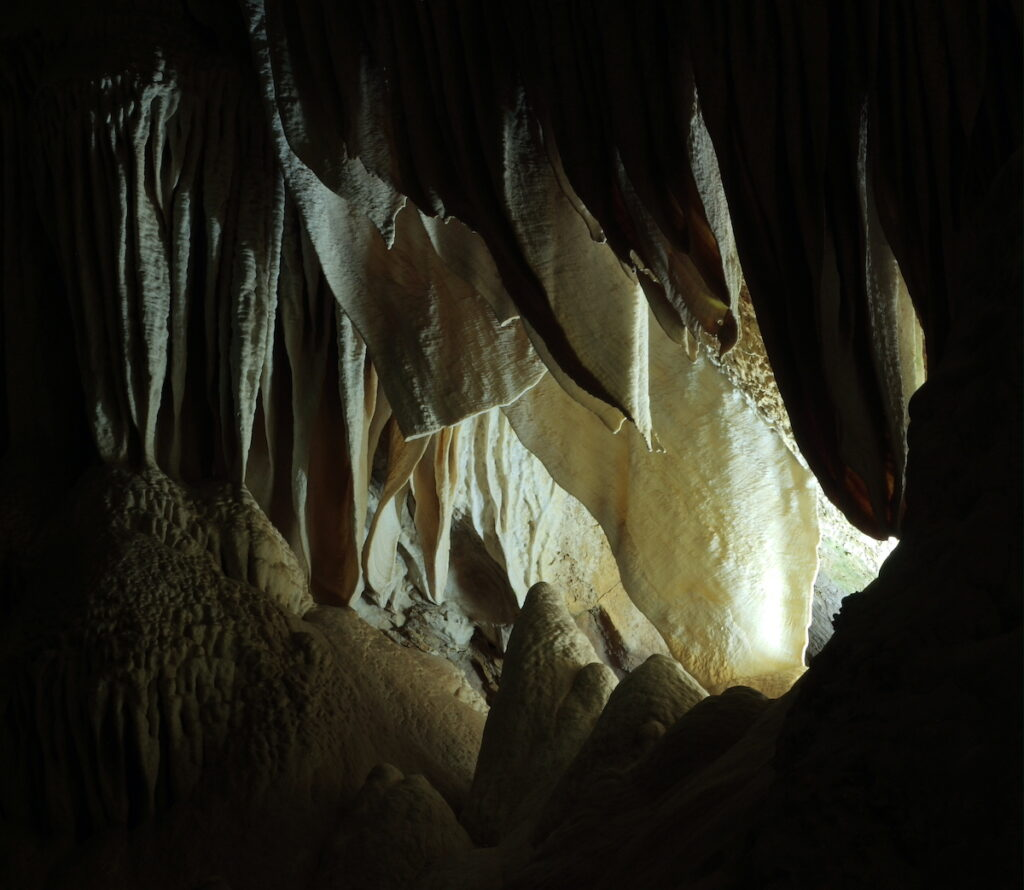 The Whale's Mouth at Carlsbad Caverns National Park.