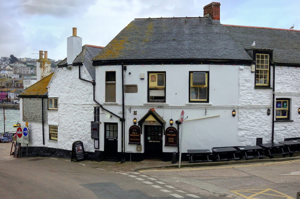 """""""The Sloop Inn"""", a traditional real ale pub in the Cornish fishing village of St Ives."""