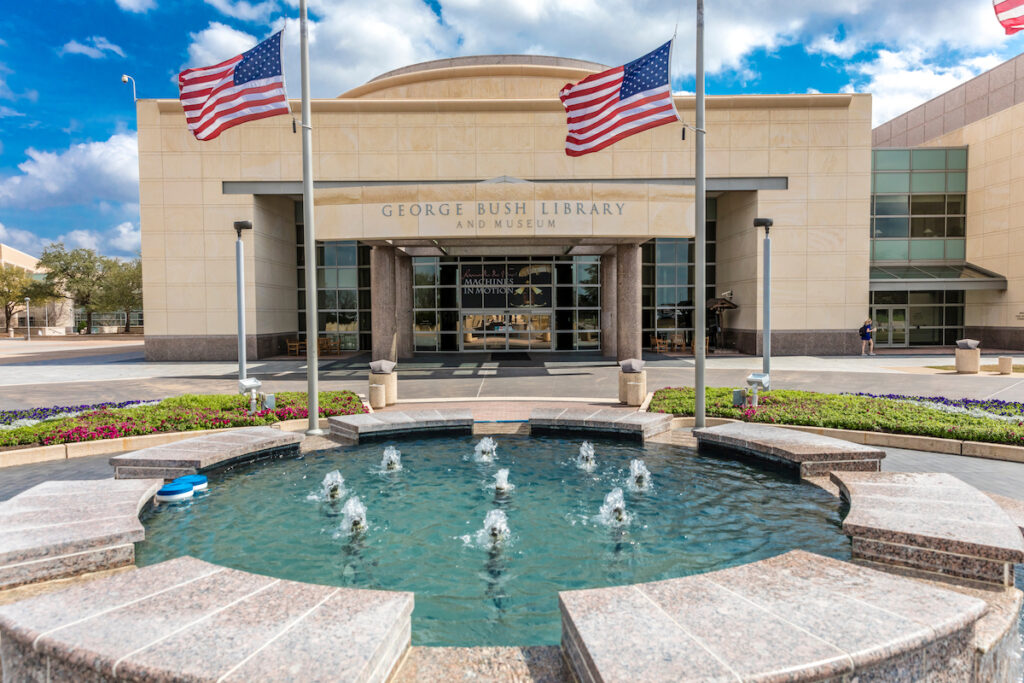 George H.W. Bush Presidential Library and Museum.