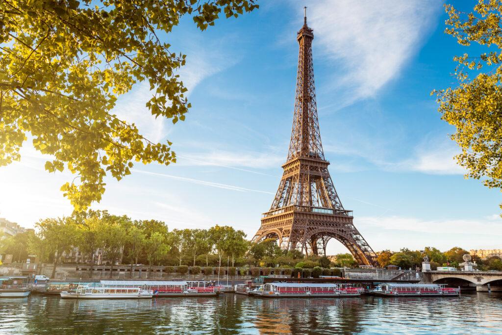Eiffel Tower-Paris, France