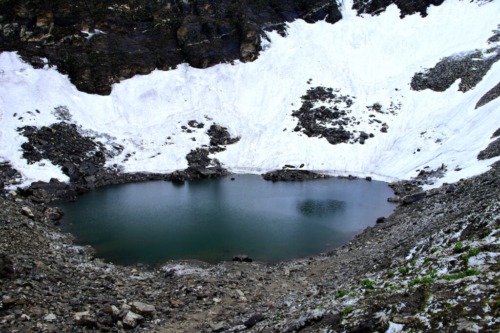 Roopkund Lake.
