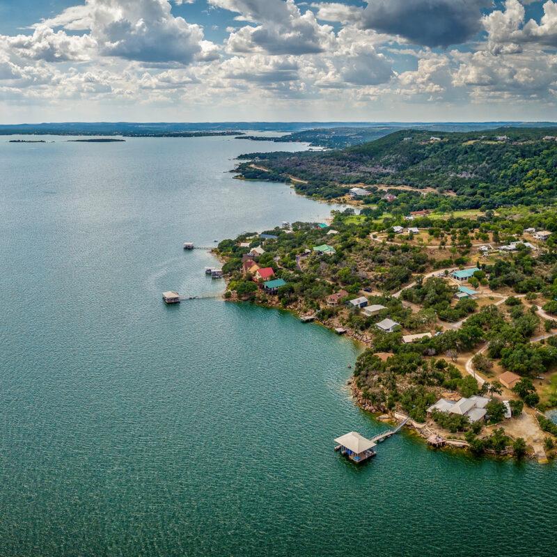 Lake Buchanan, Texas.
