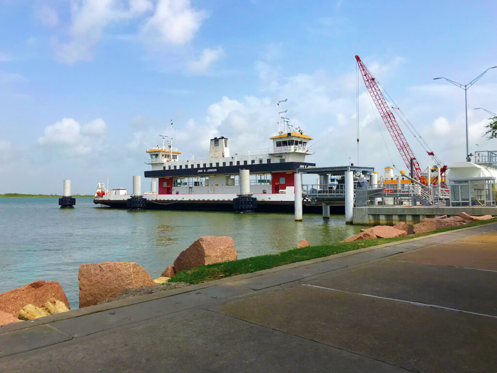 Bolivar Peninsula Ferry.