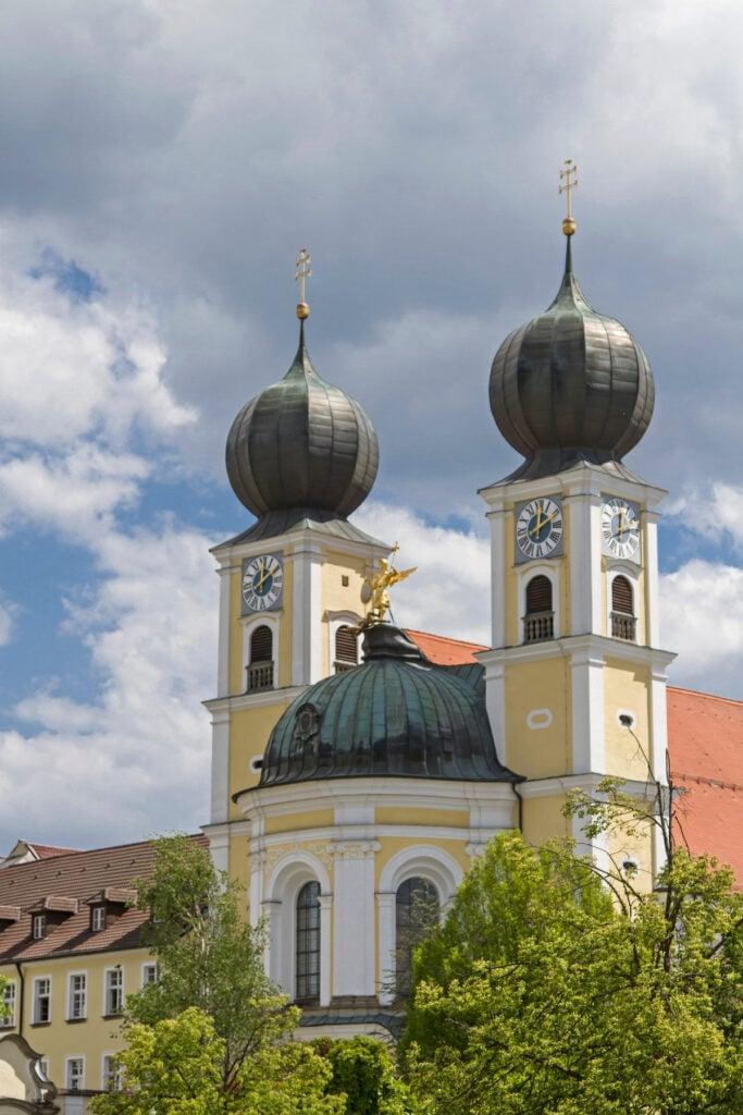 Metten Abbey in Bavaria, Germany