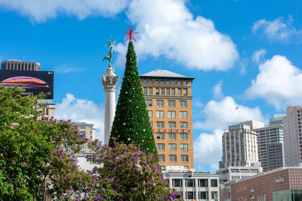 Union Square at Christmas, SF