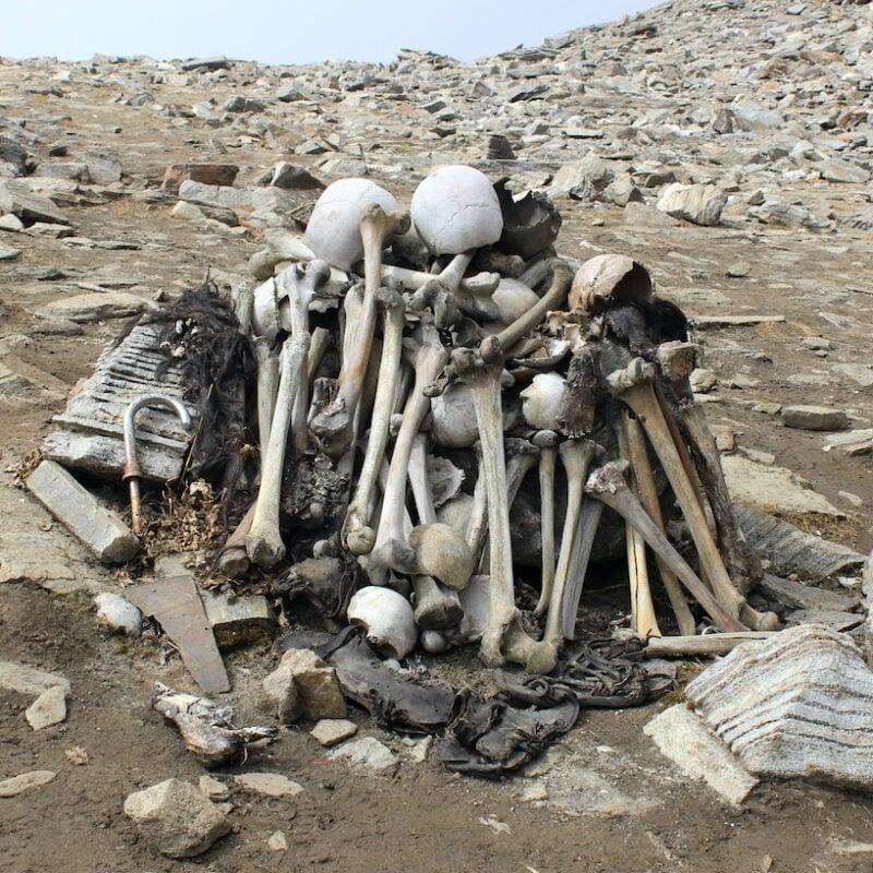 Lake of Skeletons.