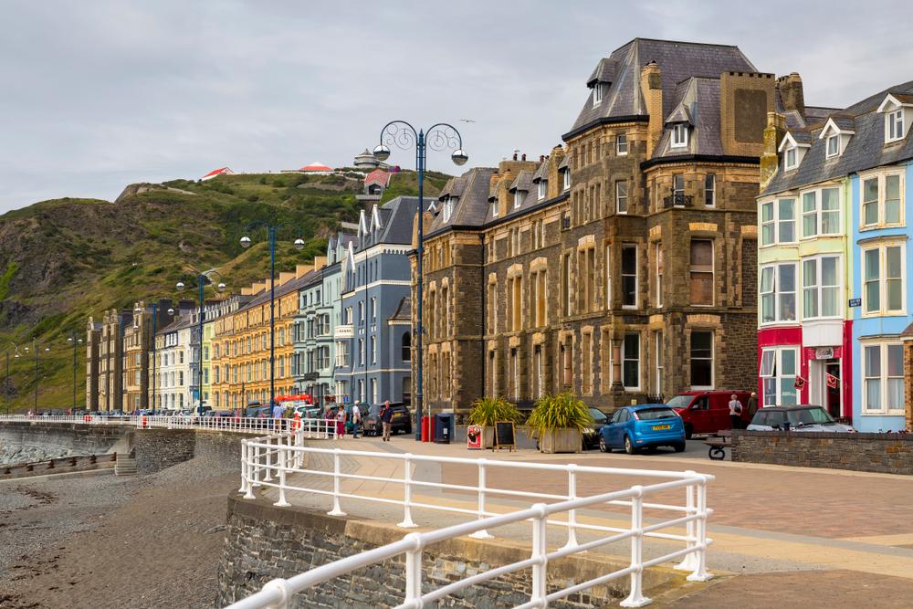 Aberystwyth, Wales.