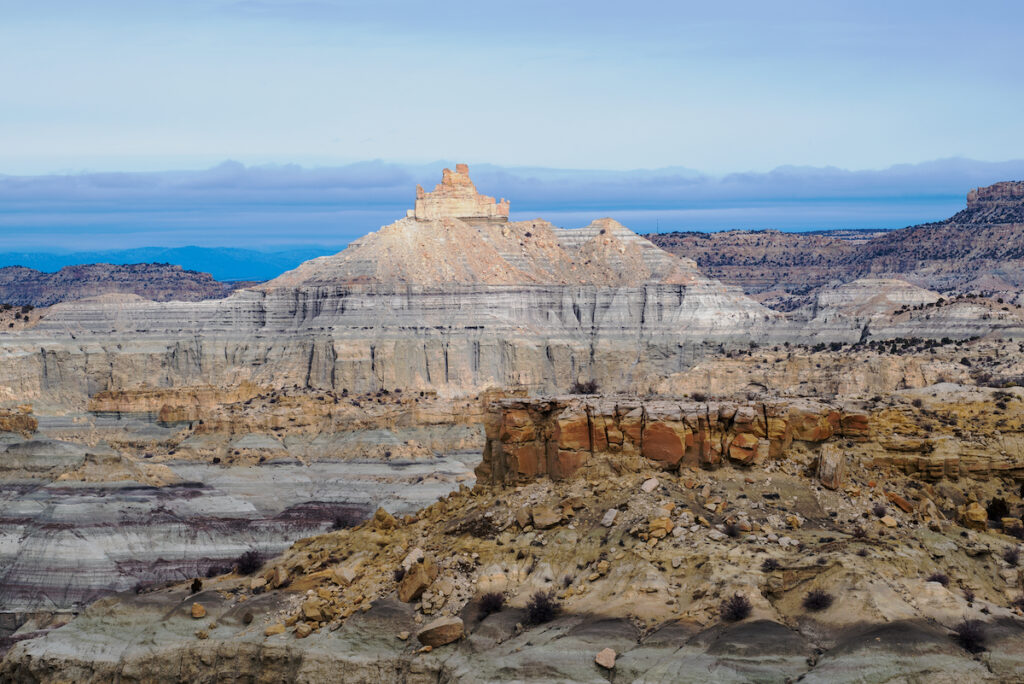 Zona panoramica di Angel Peak.