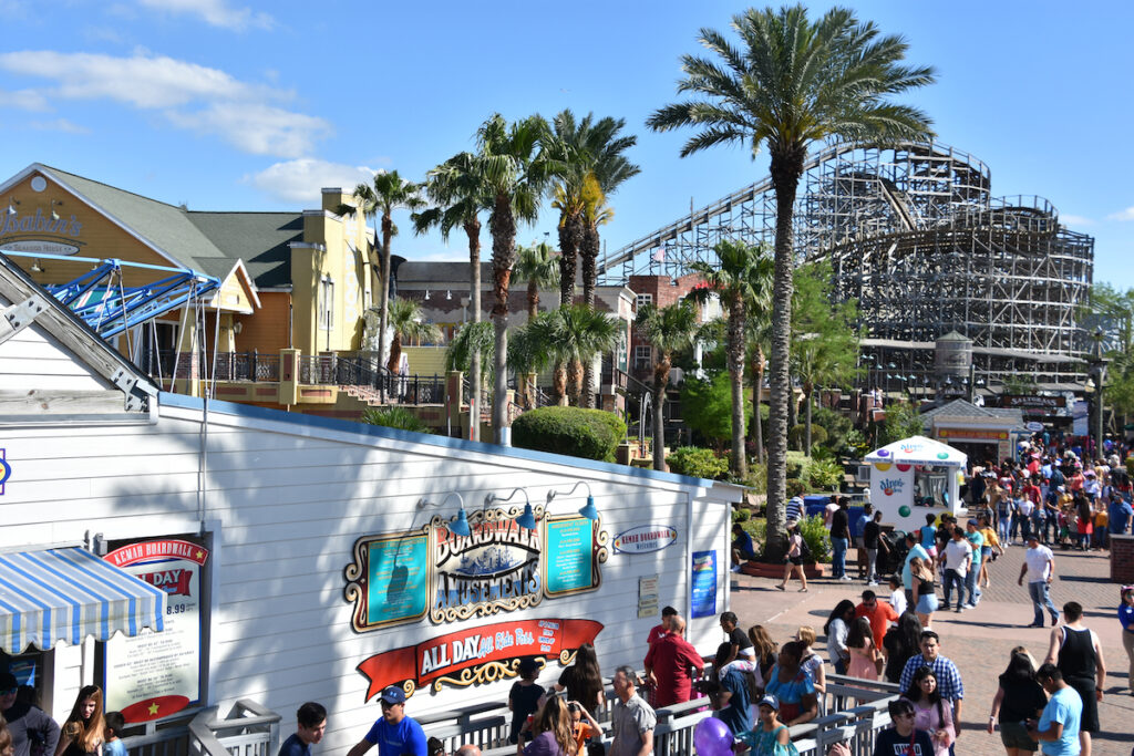 It is a 60-acre Texas Gulf Coast theme park and considered one of the premier boardwalks in the US.
