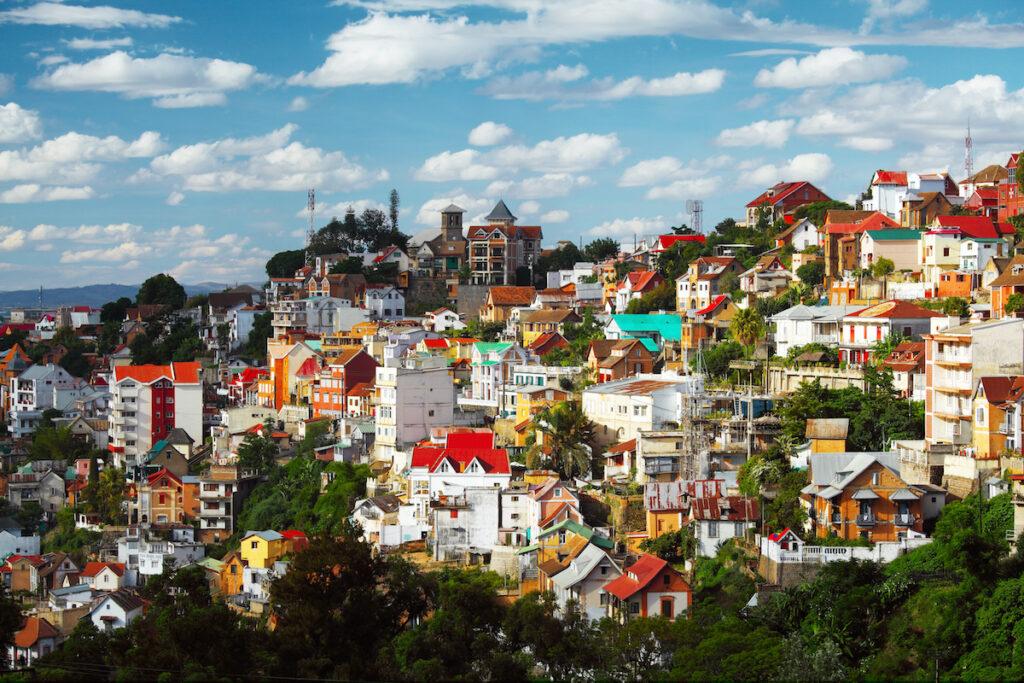Antananarivo in Madagascar