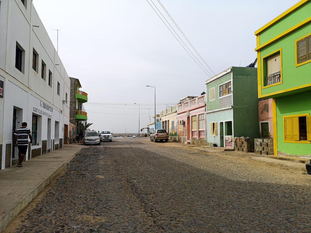 Green buildings in Sal Rei