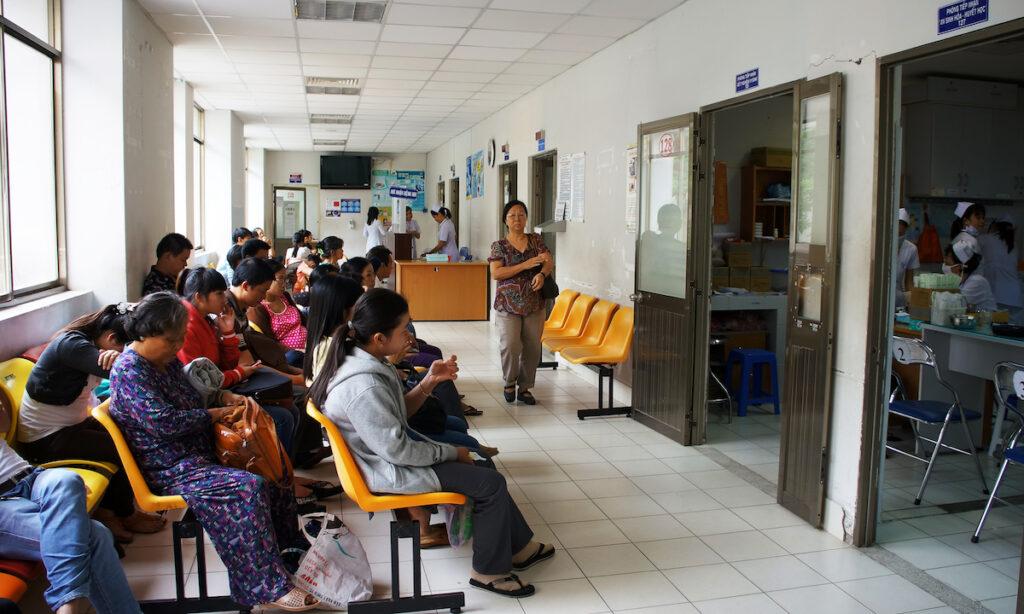 Public hospital in Ho Chi Minh City, Vietnam