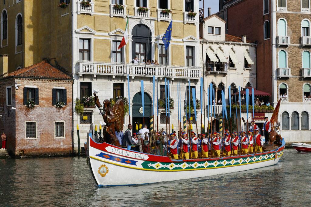 Venice, Italy Regatta Storica.